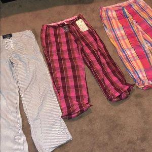 Small Pajama Lounge Pant Bundle